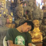 Sleeping Buddha Salesman