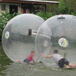 Kids in Plastic Bubbles?