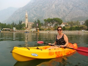 Charlene's visit to the Bay of Kotor, Montenegro