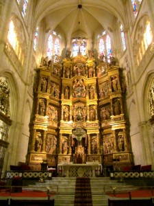 Retablo en Mayor Capilla